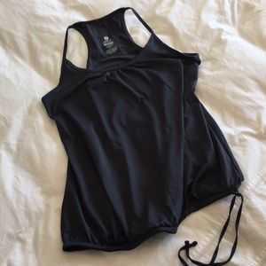 Old Navy Active - Charcoal Grey Loose-fit Tank, M